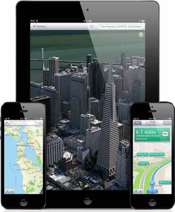 Le mappe di Apple