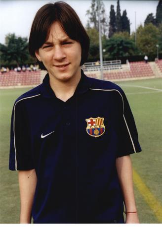Messi a 13 anni