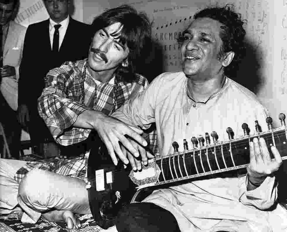 Ravi Shankar e George Harrison