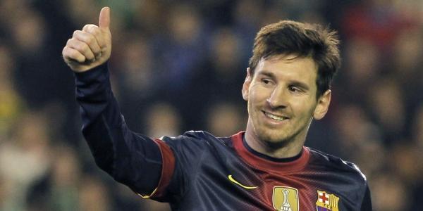 record di reti anno solare Messi