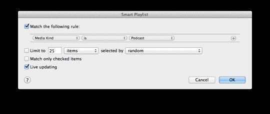 Playlist smart