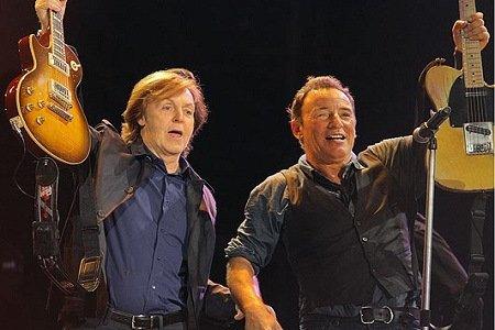 Paul McCartney e The Boss