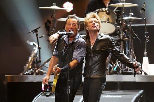 Bruce Springsteen e John Bon Jovi
