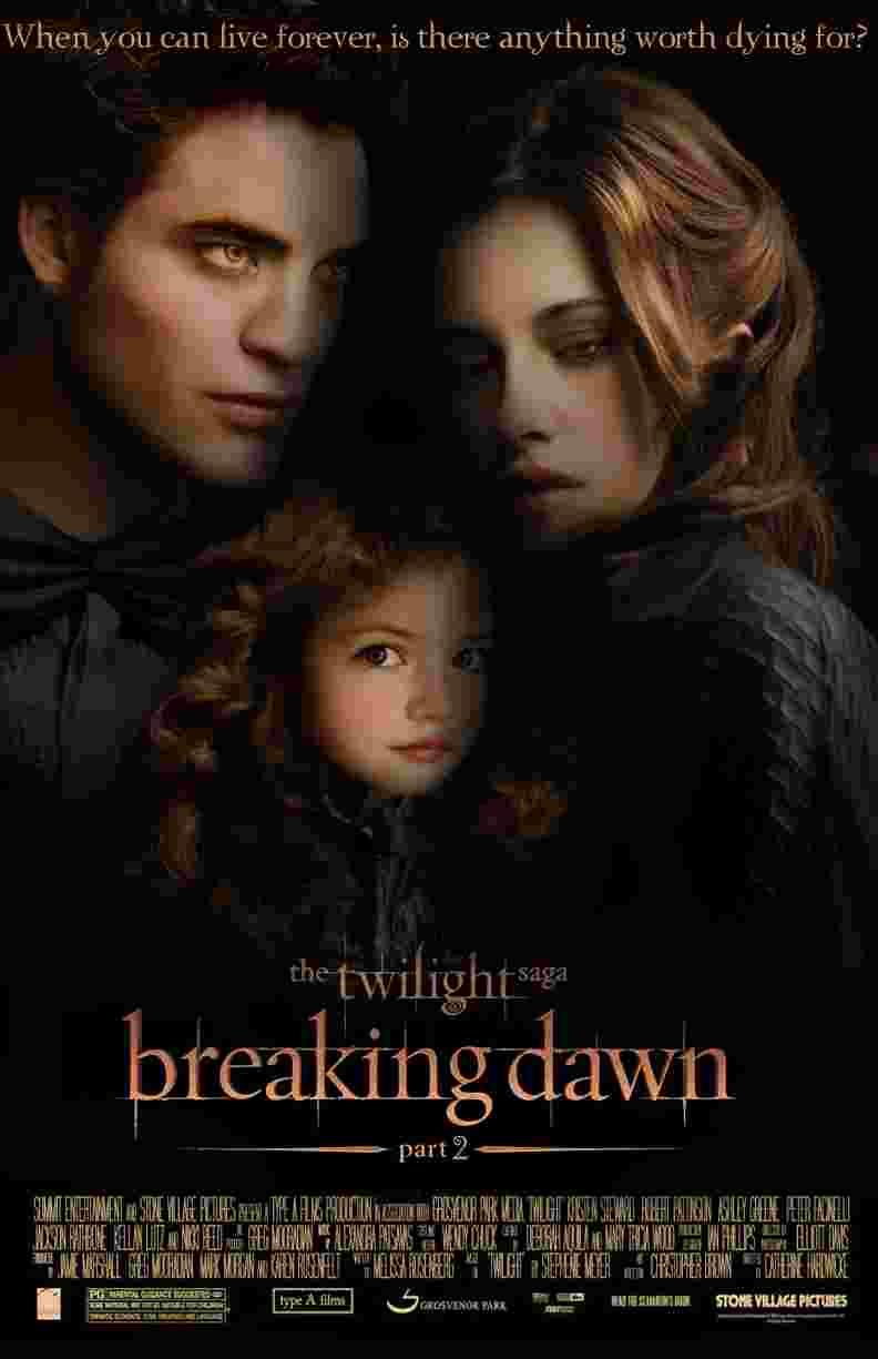 Breaking Dawn Part 2 Poster - Il Cavaliere Oscuro - Il ritorno è il film più atteso del 2012