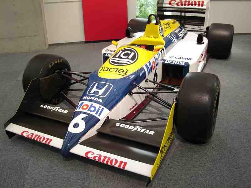 La Renault di Nelson Piquet