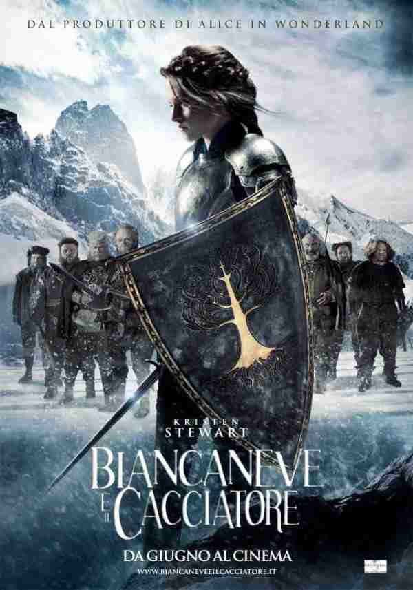 biancaneve e il cacciatore poster kristen stewart - Il Cavaliere Oscuro - Il ritorno è il film più atteso del 2012