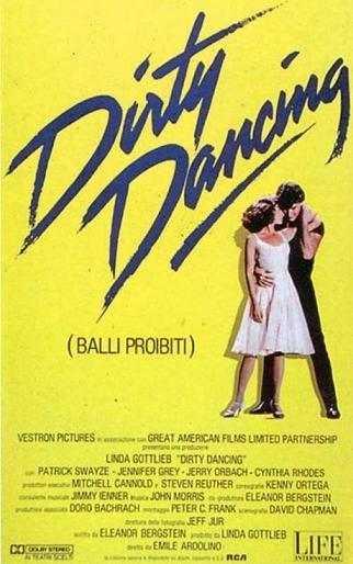 dirty dancing locandina - Dirty Dancing: un film diventato un cult