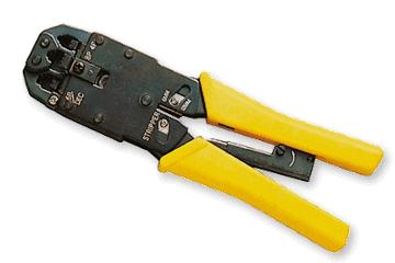 pinza crimpare - Costruiamo un cavo Crossover per collegare due PC