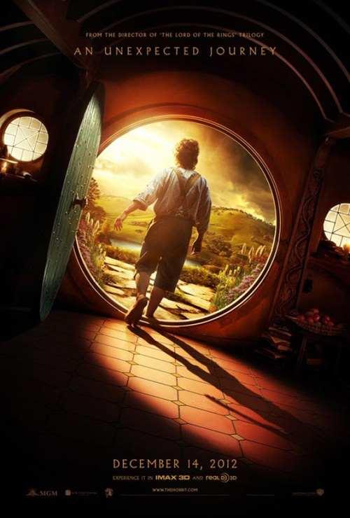 the hobbit un viaggio inaspettato poster - Il Cavaliere Oscuro - Il ritorno è il film più atteso del 2012