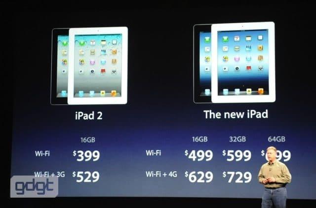 ipad3 new - Il nuovo iPad 3 della Apple