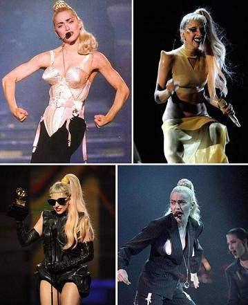 I live di Madonna e Lady Gaga