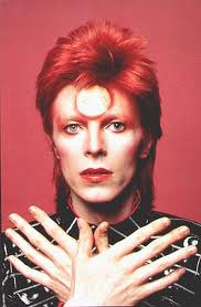 David Bowie red orb