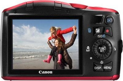 display della Canon Powershot SX150 HS