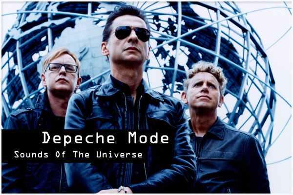 depeche mode sounds of the universe - Depeche Mode: dalle origini al nuovo album nel 2012