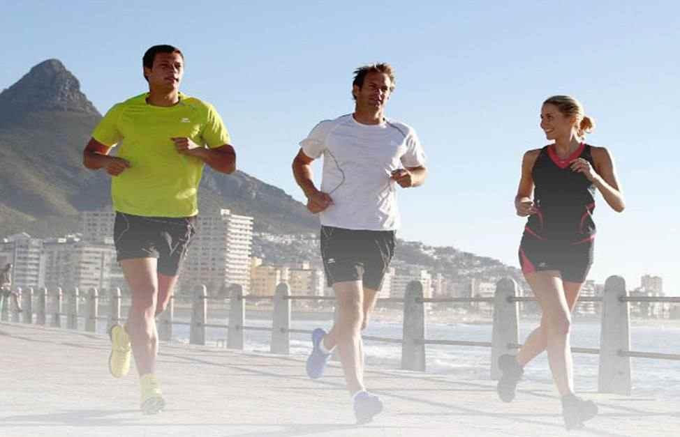 Correre e allenarsi