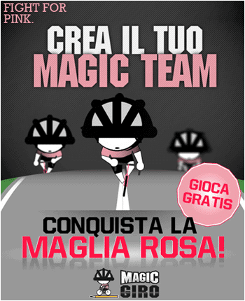 Fantasy game Magic Giro 2012