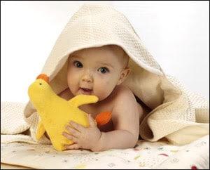 bagnetto al neonato