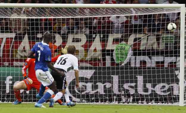 Balotelli in Italia Germania Europeo 2012