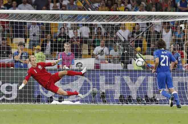 pirlo - Euro2012: a Kiev Spagna - Italia