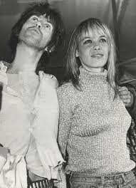 Anita Pallenberg e Keith Richard