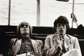 Mick Jagger e Brian Jones