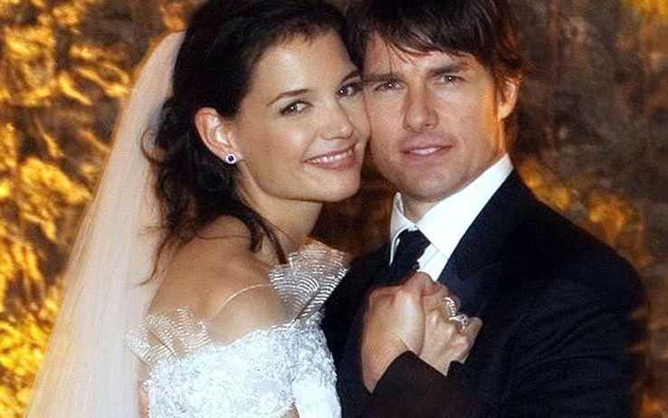 Tom Cruise e Katie Holmes sposi