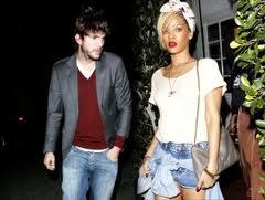 Kutcher e Rihanna