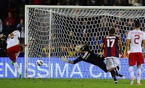 Giampaolo Pazzini: hat trick a Bologna