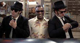 ray charles e the Blues Brothers