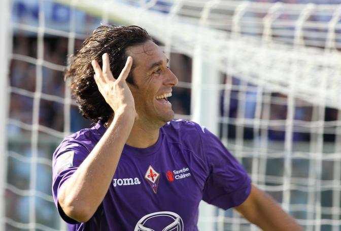 La favola di Luca Toni: rientro con goal a Firenze