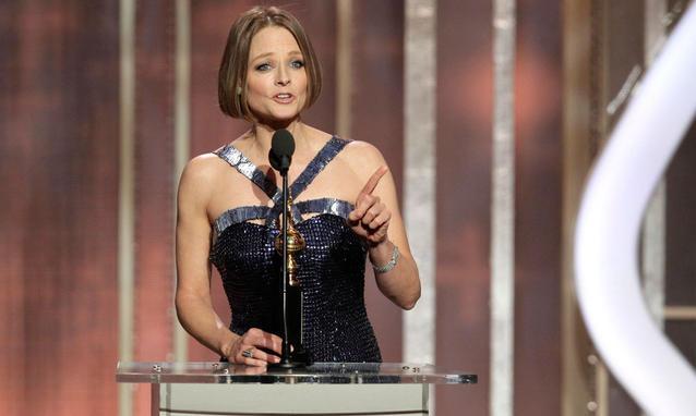 Jodie Foster al Golden Globe 2013