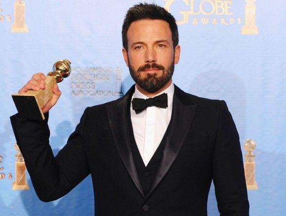 Ben Affleck al Golden Globe 2013