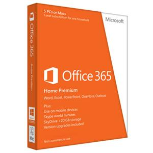 Software Office 365 Home Premium