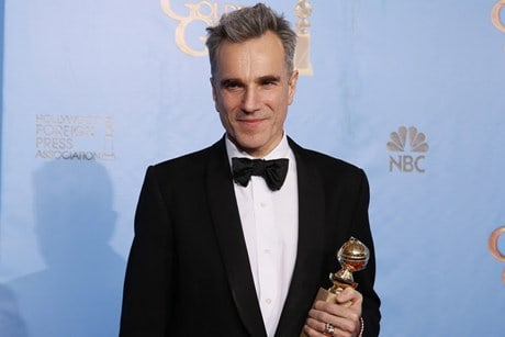 Daniel Day Lewis al Golden Globe 2013