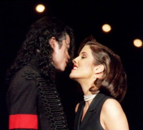 Jacko e Lisa Marie Presley