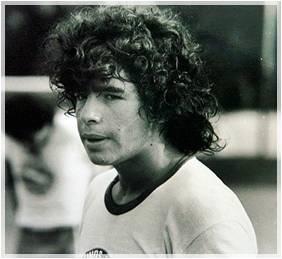 Maradona con l'Argentinos Juniors