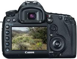 Menu Canon 5D Mark III