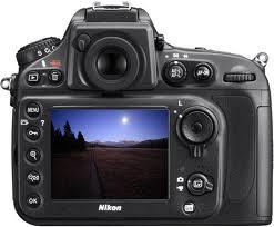 Menu Nikon D800