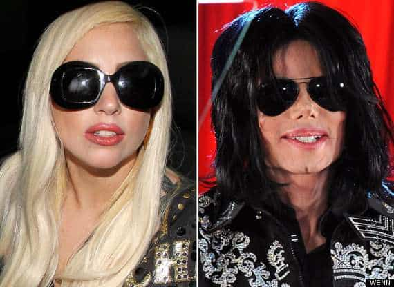 Lady Gaga fan di Michael Jackson
