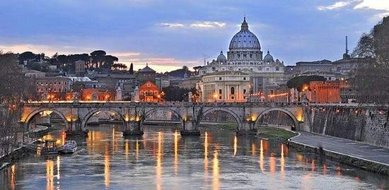 Vista Panoramica di Roma