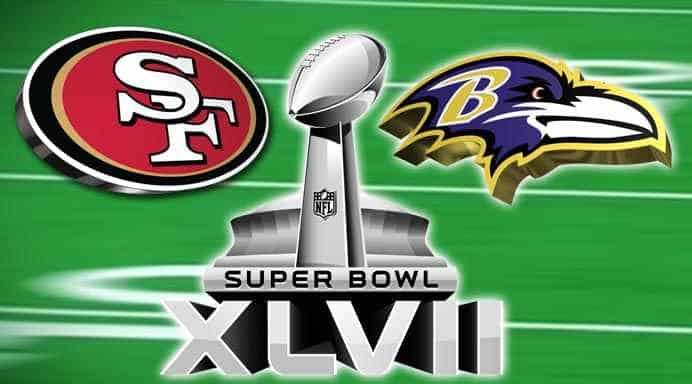 Super Bowl a New Orleans: Safn Francisco vs Baltimore