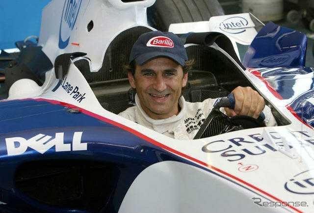 Zanardi in Formula 1