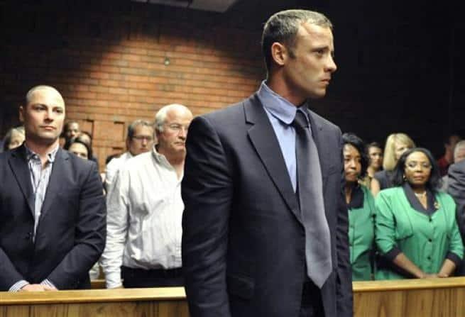 Oscar Pistorius davanti al Giudice