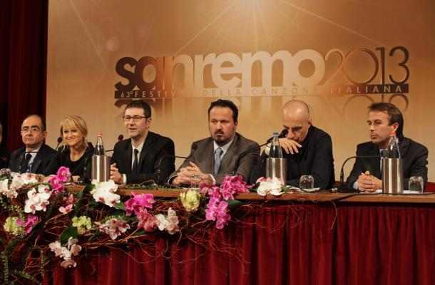 Conferenza Stampa Sanremo 2013