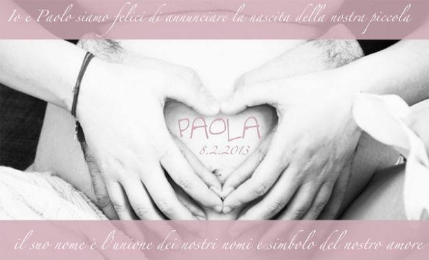 è nata Paola la figlia di Laura Pausini