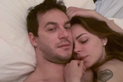 Matteo Bobbi e Nina Moric