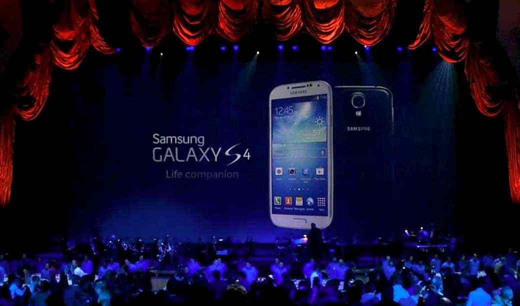 Presentazione Galaxy S4