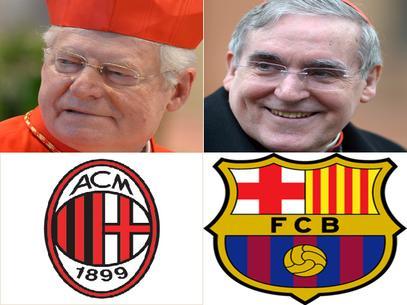 La Champions League al Conclave
