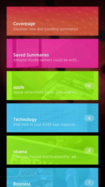 Summly. l'app del momento