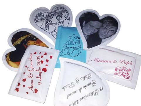 Bustine zucchero personalizzate matrimonio